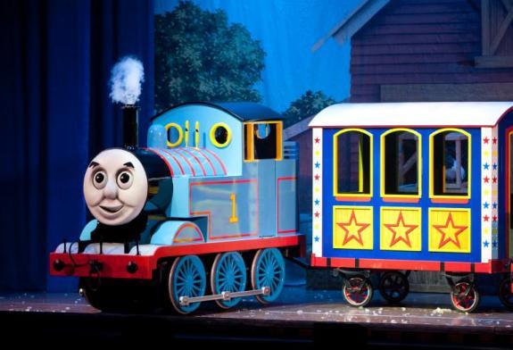 picture Thomas és barátai: A cirkusz a városba jön