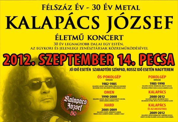 picture Kalapács József életmű koncert