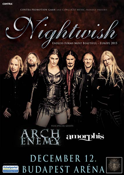 picture NIGHTWISH - Endless Forms Most Beautiful Tour