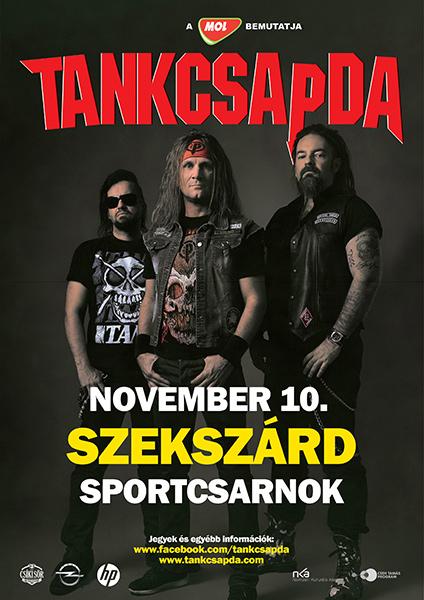 picture Tankcsapda Tour 2017