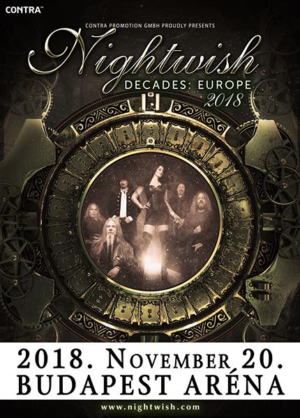 picture Nightwish Decades: European Tour 2018