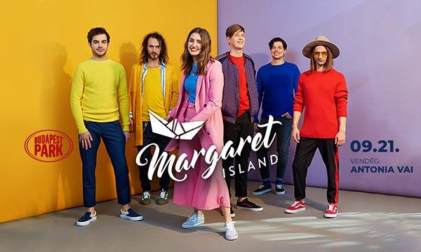 picture Margaret Island lemezbemutató, vendég: Antonia Vai