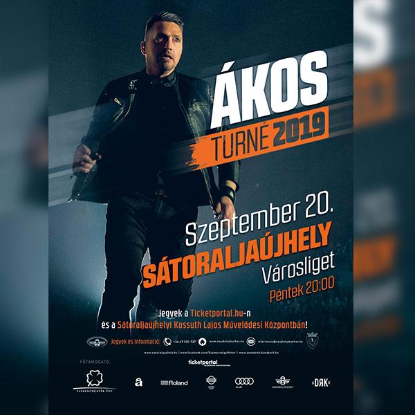 picture ÁKOS Koncert ÉLŐ - Sátoraljaújhely