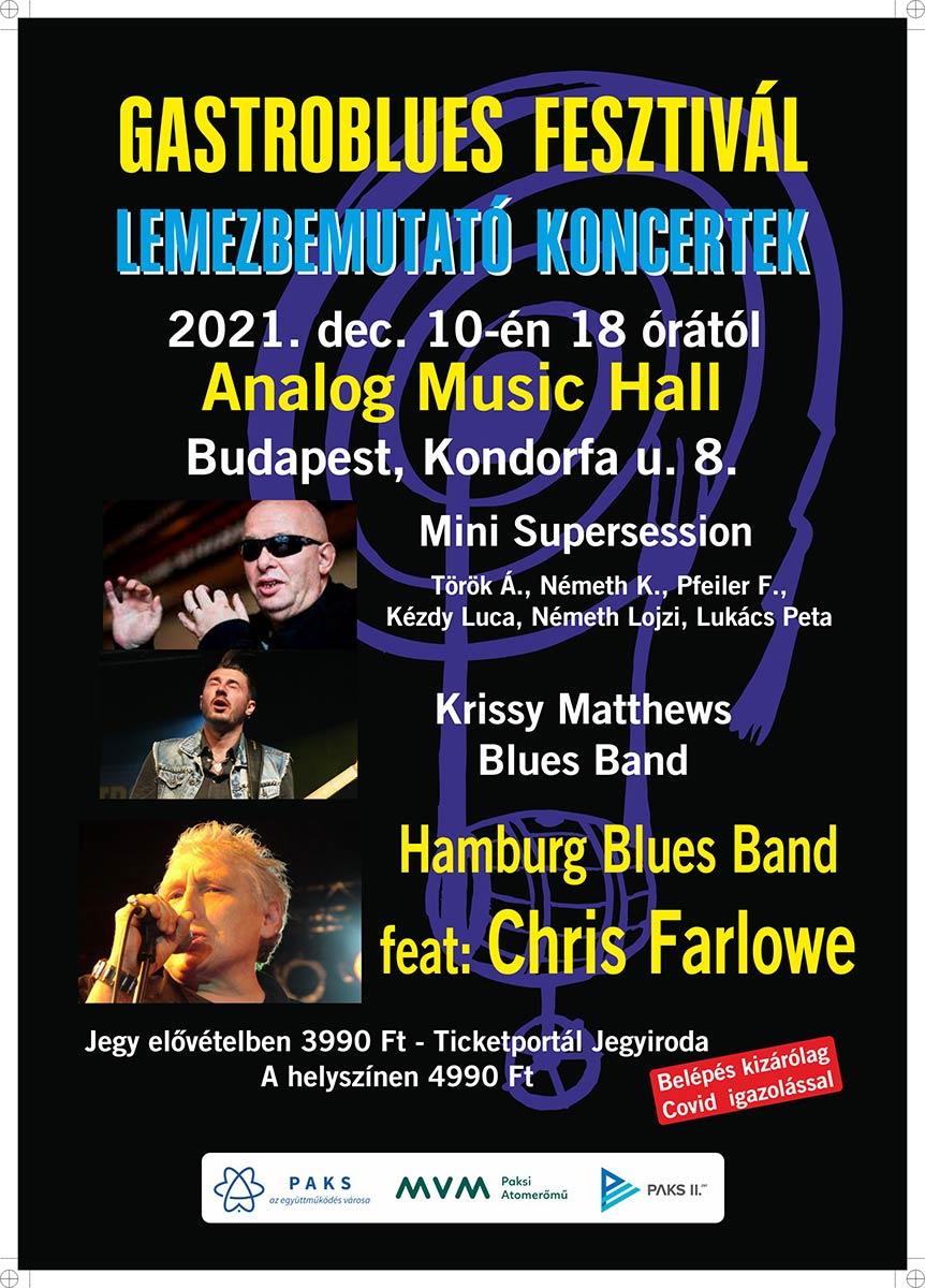 picture Gastroblues Fesztivál - lemezbemutató koncertek