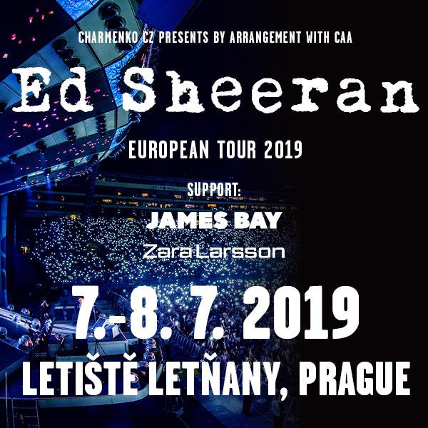Ed Sheeran - European Tour 2019