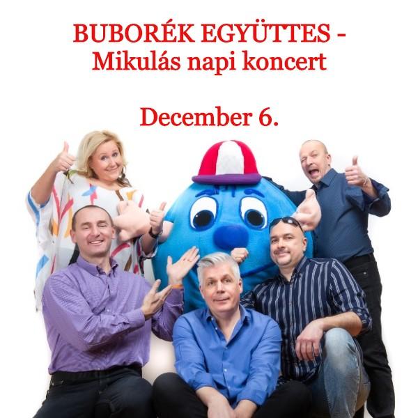 Buborék együttes-Mikulás napi koncert