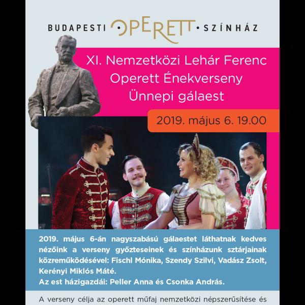 XI. Nemzetközi Lehár Ferenc Operett Énekverseny