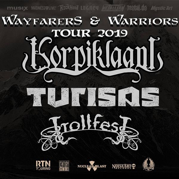 Korpiklaani, Turisas, Trollfest