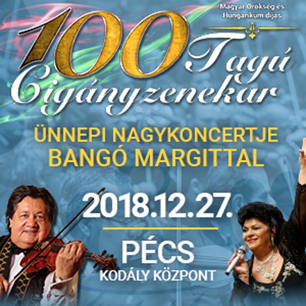 100 Tagú Cigányzenekar Ünnepi Nagykoncertje