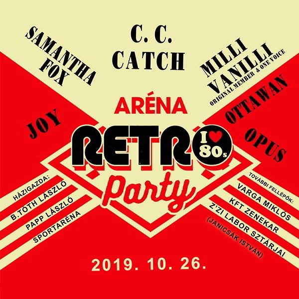 Aréna Retro Party