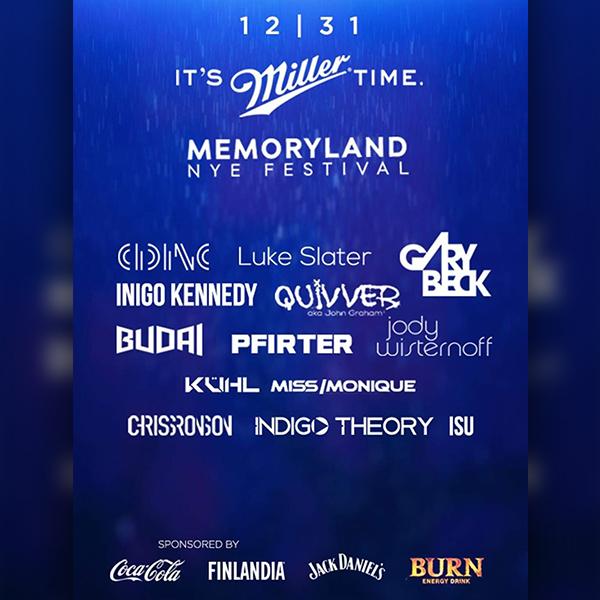 MemoryLand 2018 NYE Festival