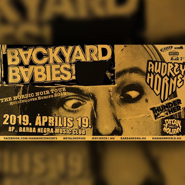 Backyard Babies, Audrey Horne + vendégek