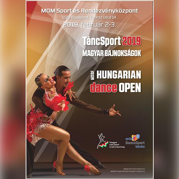 TáncSport MB - Hungarian Open 2019