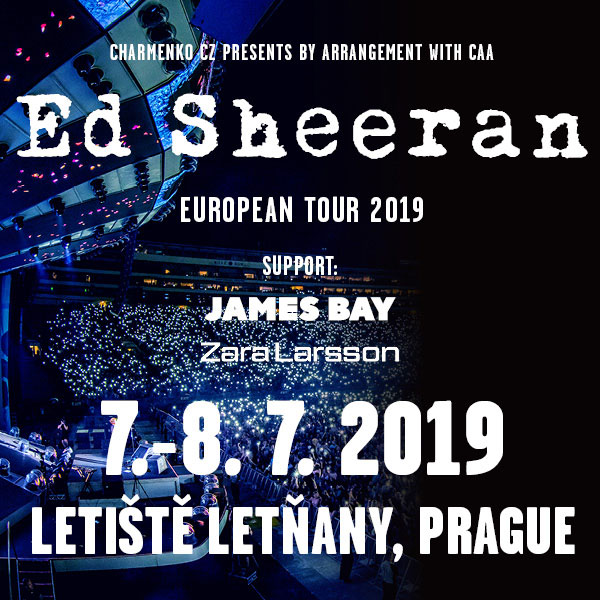 Ed Sheeran - European Tour 2019