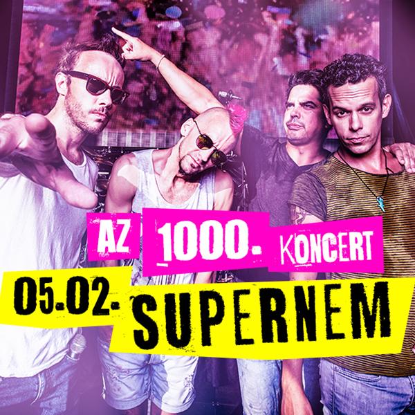 Supernem - 1000 féktelen éj