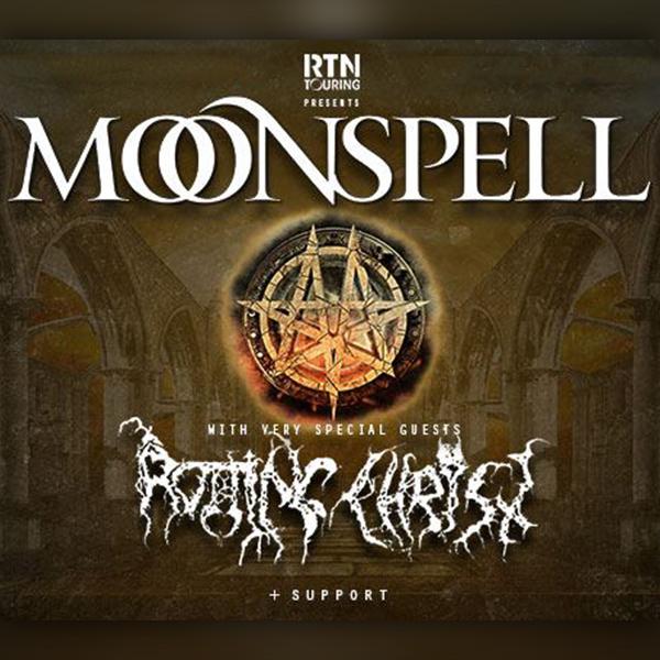 Moonspell & Rotting Christ @ A38 Hajó