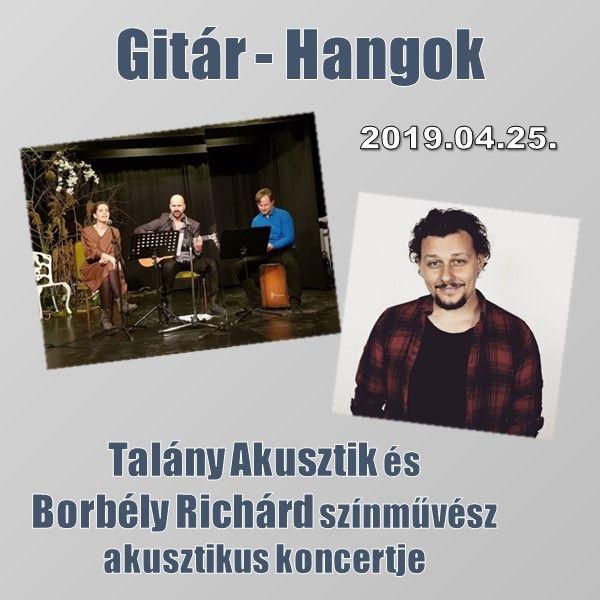 Gitár-Hangok - Talány Akusztik és Borbély Richárd