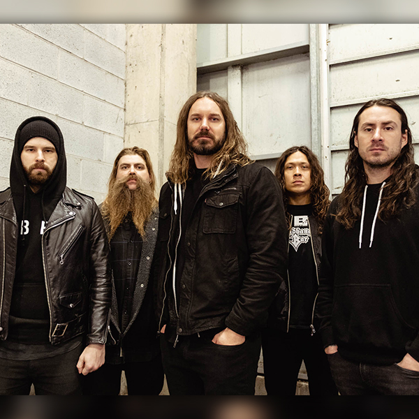 AS I LAY DYING, SHAPED BY FIRE TOUR EUROPE 2019