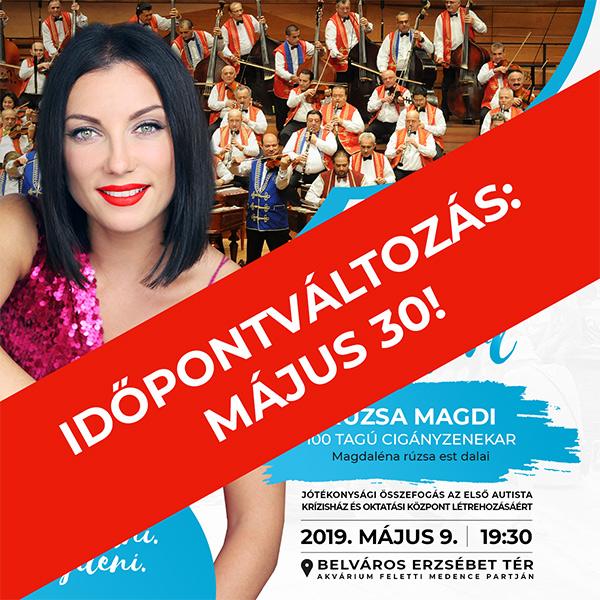 Rúzsa Magdi és a 100 Tagú Cigányzenekar koncertje
