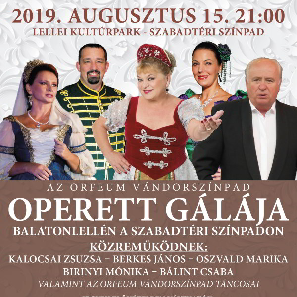 Operett Gála - Balatonlelle
