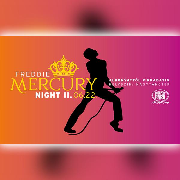 Freddie Mercury Night II. 2019.06.22.