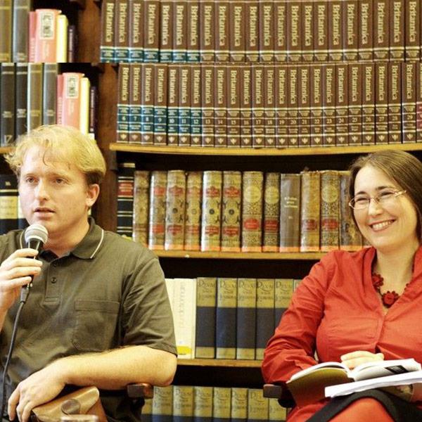 Lackfi János és Szabó T. Anna előadása