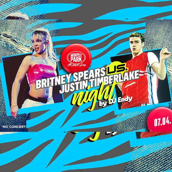Britney Spears vs. Justin Timberlake Night w/ Dj E