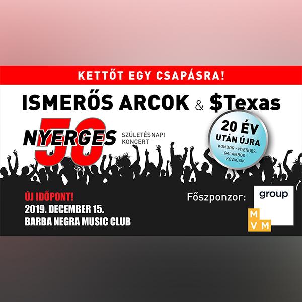ISMERŐS ARCOK - Nyerges 50