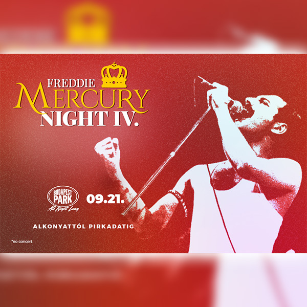 Freddie Mercury Night - Season Closing Party 2019.