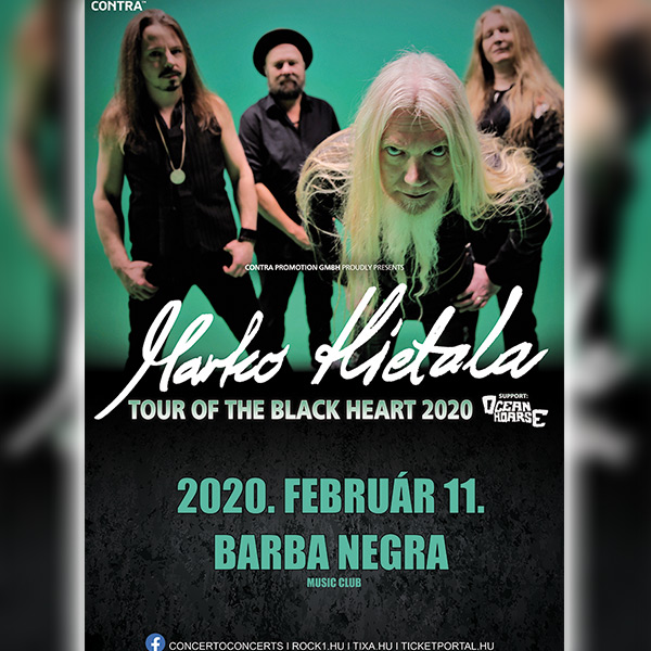 MARKO HIETALA - Tour Of The Black Heart 2020