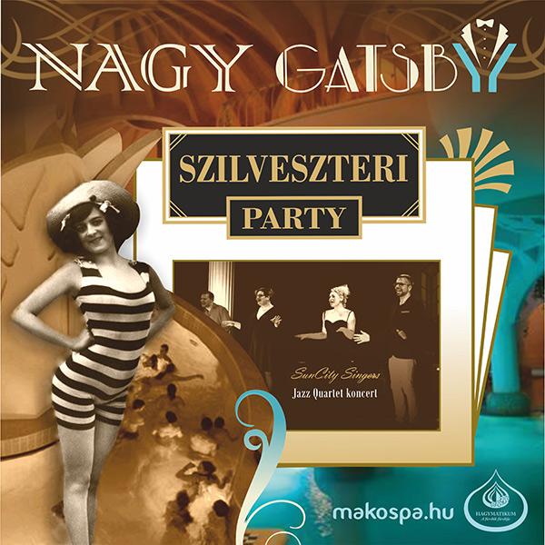 Nagy Gatsby Szilveszter a Hagymatikumban