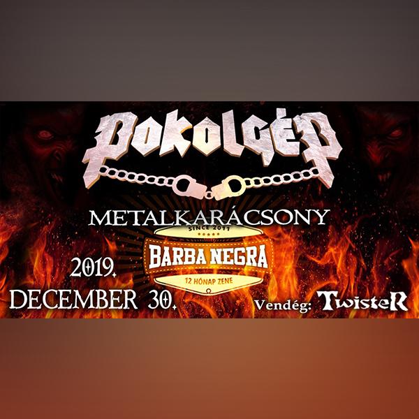 POKOLGÉP Metalkarácsony