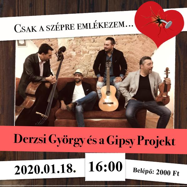 Derzsi György és a Gipsy Projekt