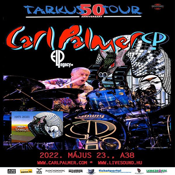 CARL PALMER ELP Legacy - 50 éves az ELP!