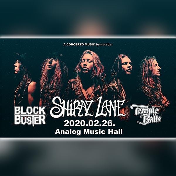 SHIRAZ LANE - Rock Vibrations Tour 2020