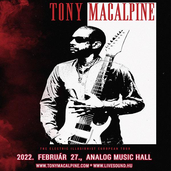 Tony Macalpine 2022