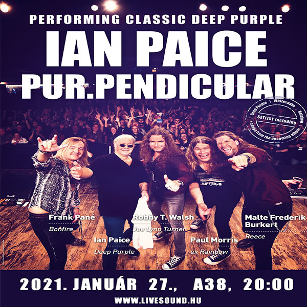 Ian Paice/Purpendicular