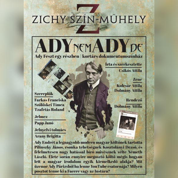 ADYnemADYde - Kortárs dokumentumszínház