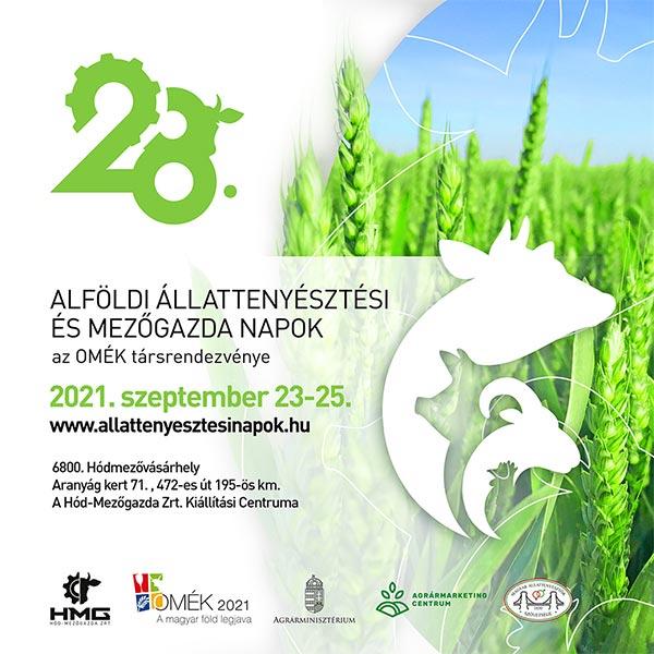 XXVIII.Alföldi Állattenyésztési és Mezőgazda Napok
