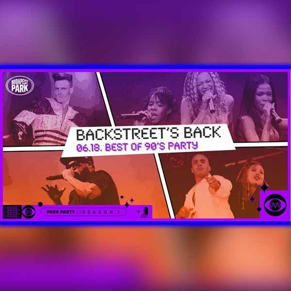Backstreet's Back 2021.06.18. - Dzsungel
