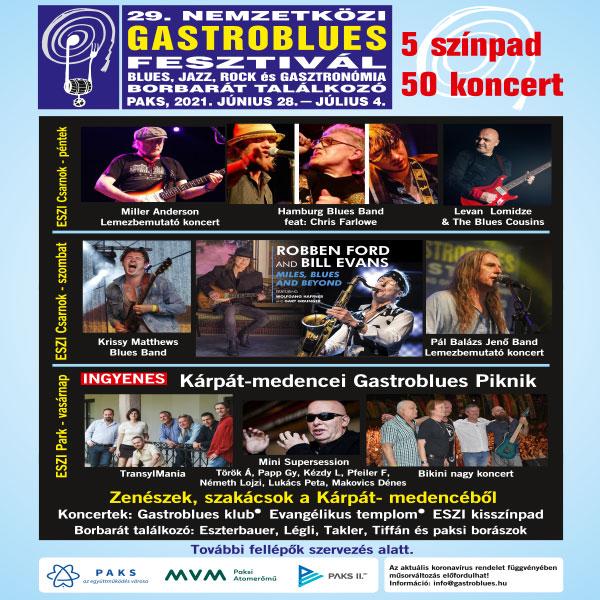 29  Gastroblues  Fesztivál