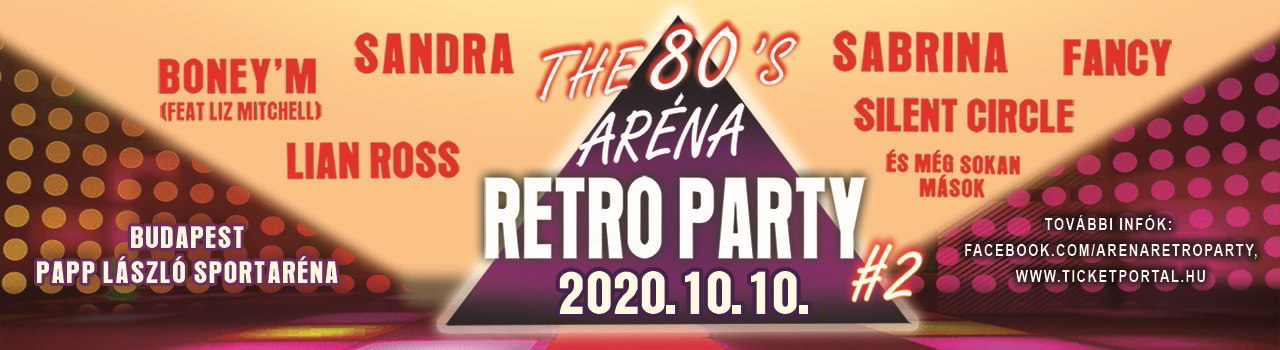 ARÉNA RETRO PARTY #2