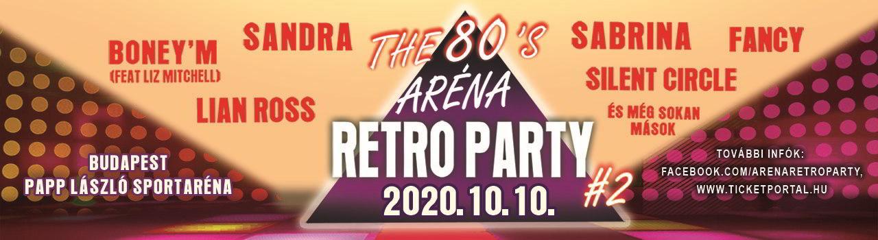 ARÉNA RETRO PARTY #2
