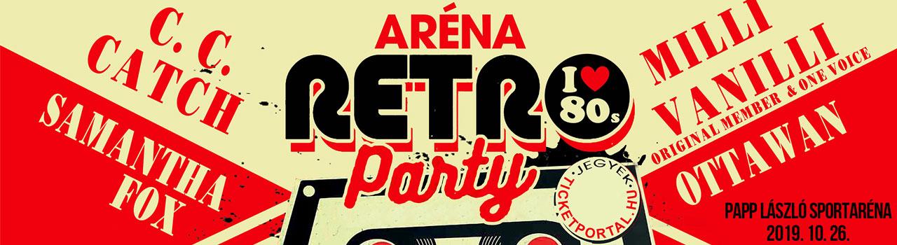 Aréna Retro Party