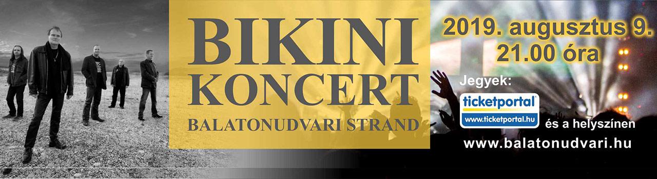 Bikini koncert - Balatonudvari
