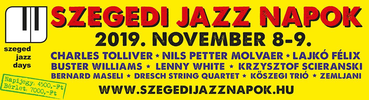 Szegedi Jazz Napok 2019
